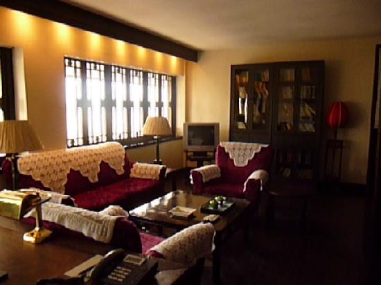 China Club: the private living room of the suite