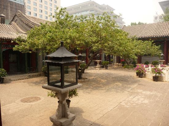China Club: the courtyard