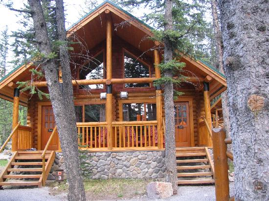 Cathedral Mountain Lodge: The cabin