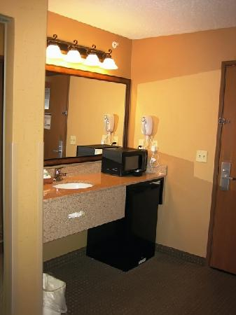 BEST WESTERN PLUS Kelly Inn & Suites: Sink area
