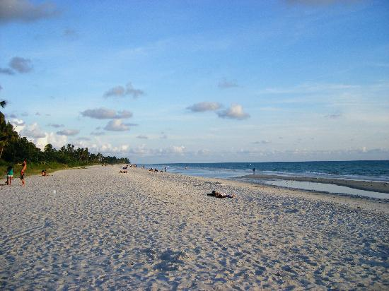 Naples, FL: Beach not long before sunset