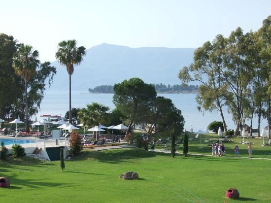 Family Life Kerkyra Golf: View from 1st floor balcony