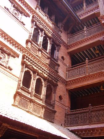 Kantipur Temple House: The Inner Courtyard