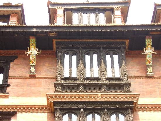 Kantipur Temple House: View of the front