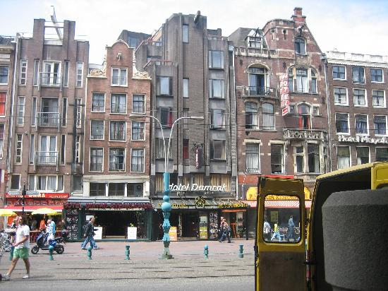 Fachada Hotel Damrak, Amsterdam