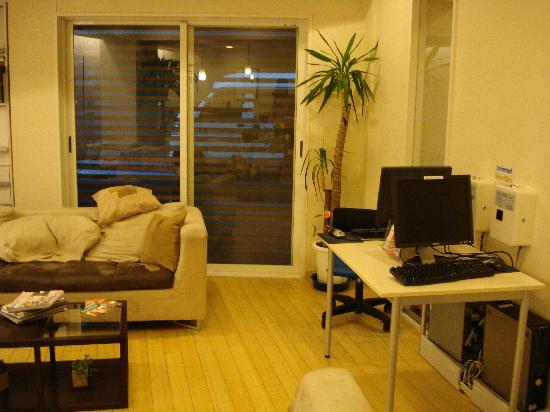 K's House Tokyo: internet area