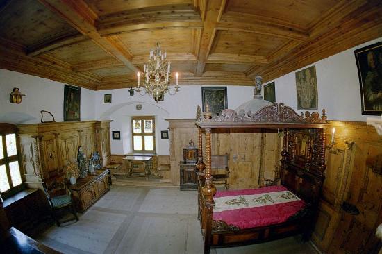 Schloss Tarasp: Prunkzimmer