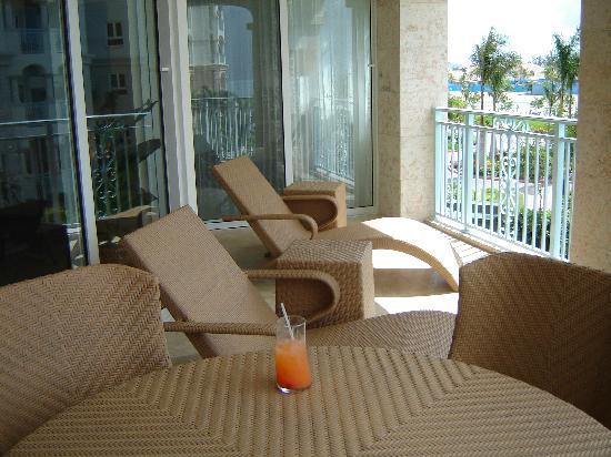 Seven Stars Resort & Spa: the balcony