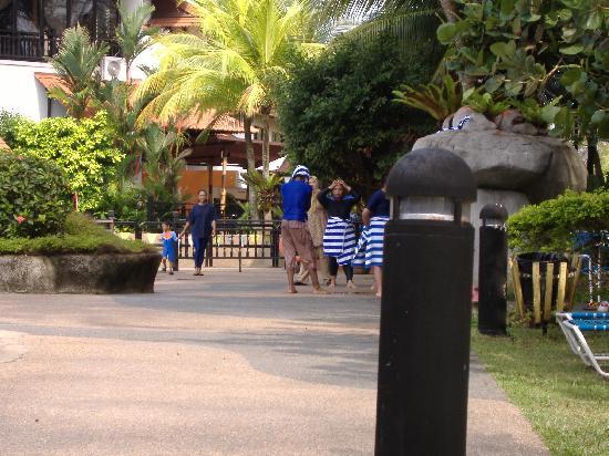 Resorts World Kijal: pool arrea awana golf,beach and spa resort kijal