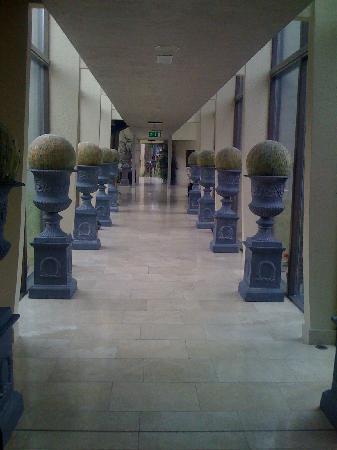 Monart: Hallway to Restaurants