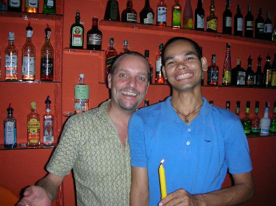 SALA Samui Resort And Spa: Jonno & Joe from the Funky Chill-out bar
