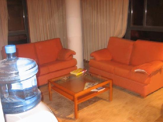 Plaza Picasso: soggiorno