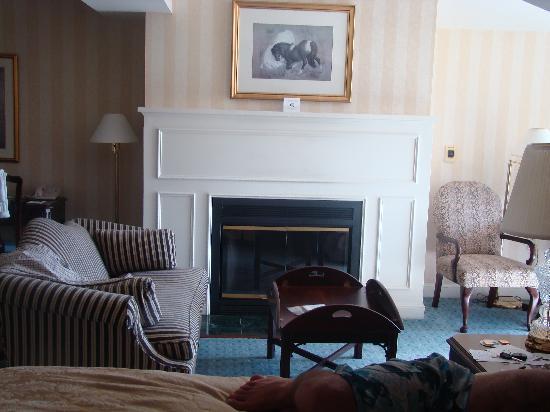 Saybrook Point Inn & Spa: fireplace
