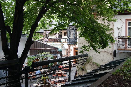 Breuer's Ruedesheimer Schloss: BRSH_Room 24_View from Stairs