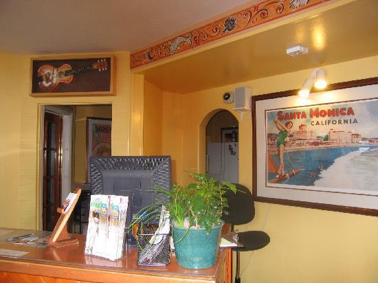 The Hotel California: reception area