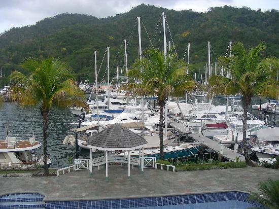 Crews Inn Hotel & Yachting Centre : View from the balcony