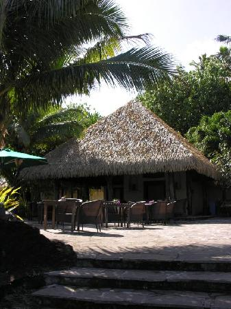 Pacific Resort Aitutaki: Black Rock Cafe & Bar