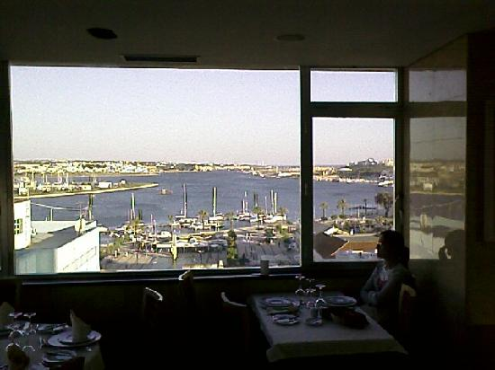 Hotel Globo : View from the restaurant