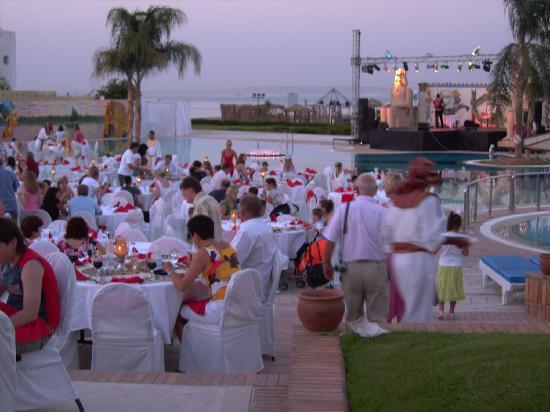 Mercure Hurghada Hotel: soiree egyptienne