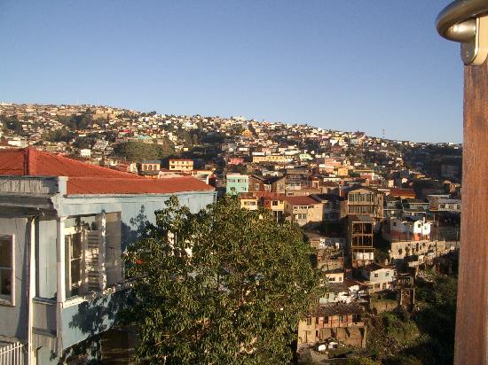 Casa Higueras: Room's Side window view