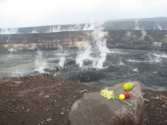 Hawaii Volcanoes National Park, Havai: Halema'uma'u Crater