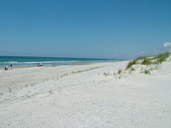 Swansboro, Carolina del Norte: Bear Island Beach