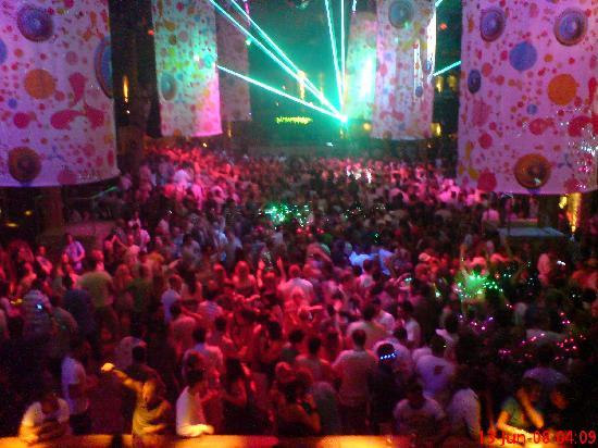 Apartamentos Poniente Playa: Cream Amnesia Opening Night