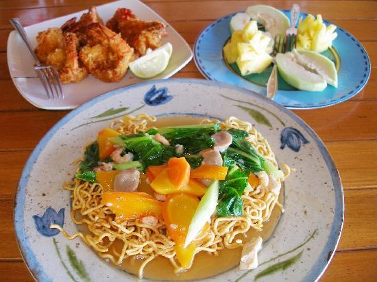 Bunaken Cha Cha Nature Resort: Rinto's delicious meals