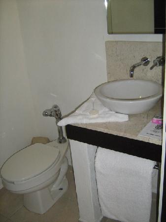 City Express Morelia: el baño