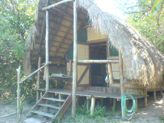 Bilene, โมซัมบิก: The cabins are rustic, but comfortable