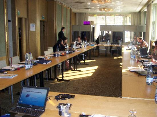Hilton Helsinki Strand: really nice set up for meeting room