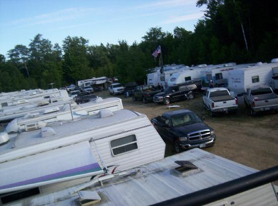 New Hampshire Motor Speedway: NHMS Camping- View from the Monster Bus