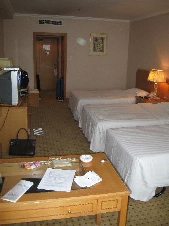 Eastern Air Hotel: Our triple room