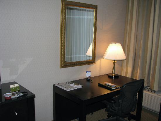 DoubleTree by Hilton Hotel Chicago Wood Dale - Elk Grove: Desk area
