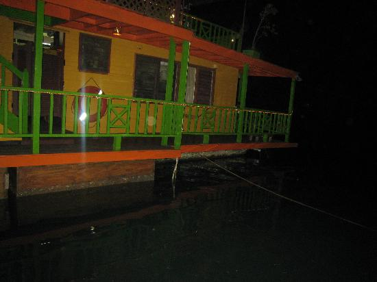 The Houseboat Grill: boat