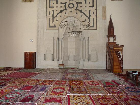 Isa Bey Mosque: Mihrab