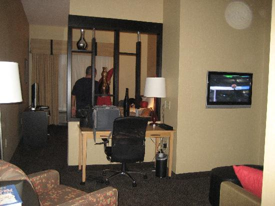 DoubleTree by Hilton Hotel Savannah Airport: From living area looking into bedroom