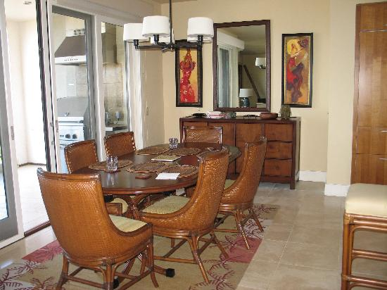 Wailea Beach Villas : Dining room