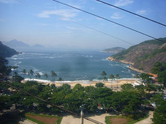 Copacabana Mar Hotel : Aview from Sugar-Loaf