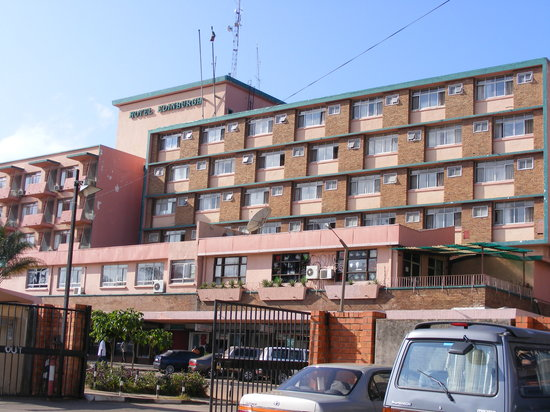 Kitwe, Zambia: View of Hotel