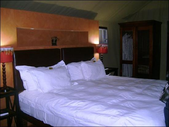 Buffelsdrift Game Lodge: the best bed in the world
