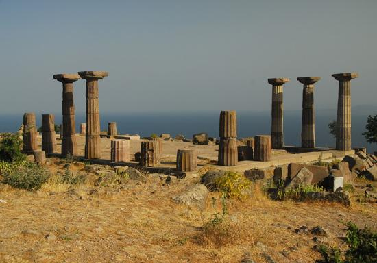 Yildiz Saray Hotel: Acropolis view