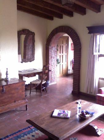 Villa Montaña Hotel & Spa: Living Room in my apartment