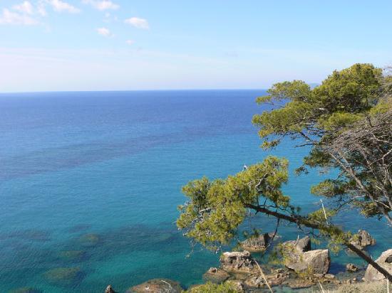 Castle views, Koroni