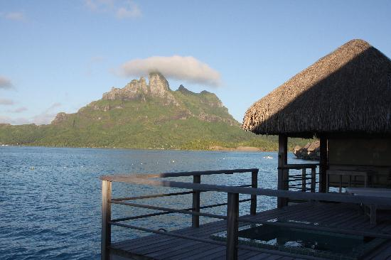 St. Regis Bora Bora Resort: view from POWB