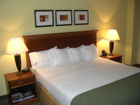 Holiday Inn Express Trincity Trinidad Airport: executive suite - bed