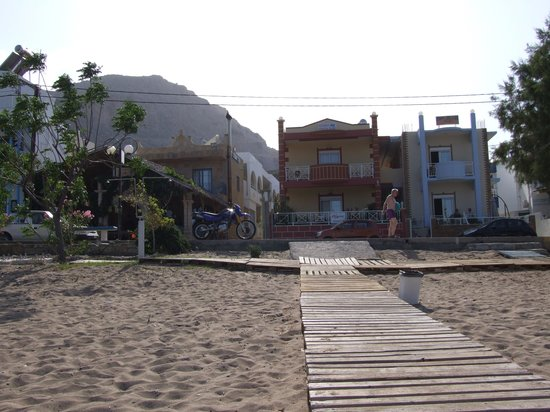 stegna mare studios  left  and stegna star apartments  right