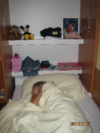 Hotel Mr. Pickwick: Cupboard beds!