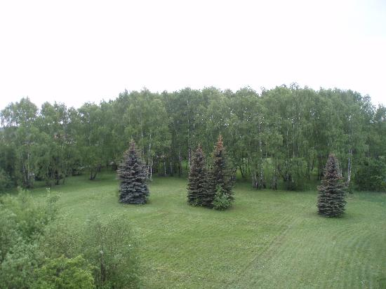 Khimki, Russie : Hotel Olympiets - view from room