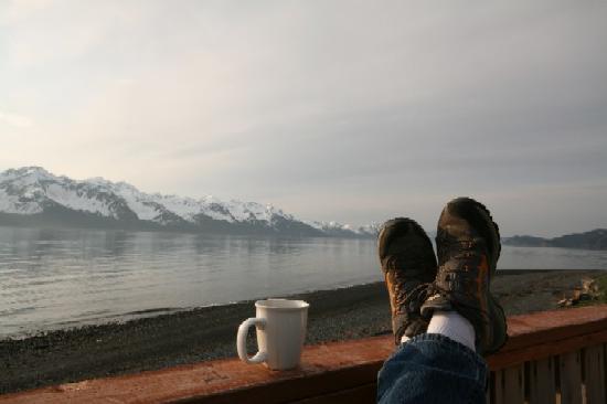 Alaska Base Camp : Morning Coffee
